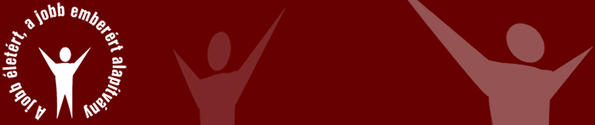 Jobb életért, a jobb emberért alapítvány Logo